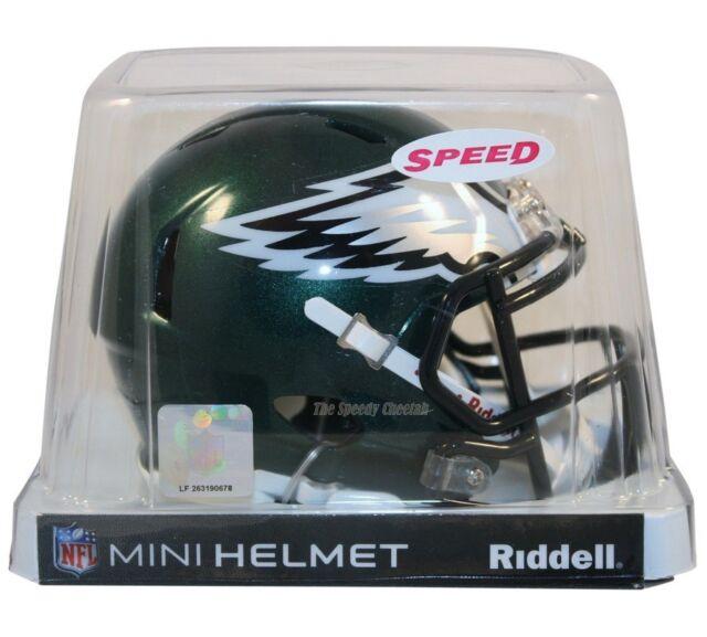 PHILADELPHIA EAGLES RIDDELL NFL MINI SPEED FOOTBALL HELMET