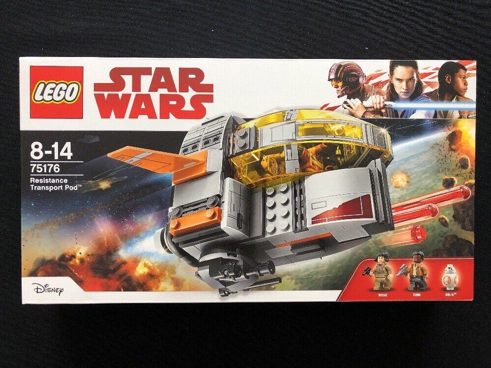 Lego Star Wars set 75176 Resistance Transport Pod BNISB New Sealed VGC