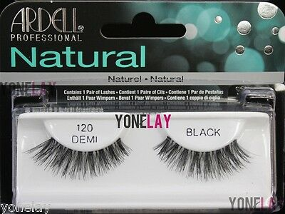 4 Pairs ARDELL 120 Demi False Eyelashes Fake Eye Lashes Invisibands Lash Wispies