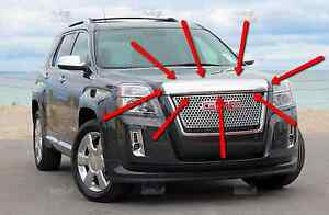 Hood Molding Compatible with GMC TERRAIN 2010-2015 Assembly Chrome