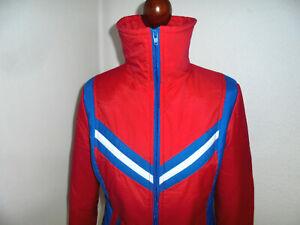 Skijacke-70er-Jahre-Nylon-Anorak-ski-retro-70s-oldschool-winter-rot-glanz-42-S