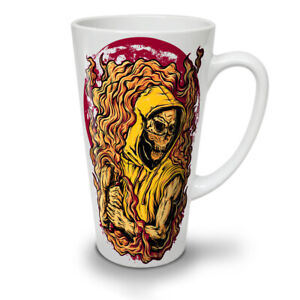 Skeleton Death Skull NEW White Tea Coffee Latte Mug 12 17 oz | Wellcoda