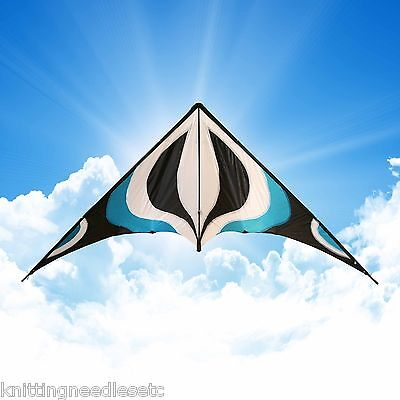 """84"""" Sport Stunt Kite Dual-Line X-LARGE 7 FT WING SPAN Prism Delta Outdoor Flying"""