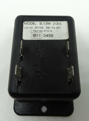 Woodway EL13W Alternating Flasher Unit For Headlights And Halogens 12v