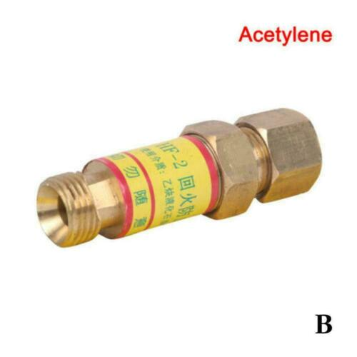 Acetylene//Oxygen Check Valves Flashback Arrestor Welding New Pressures Redu M1G7