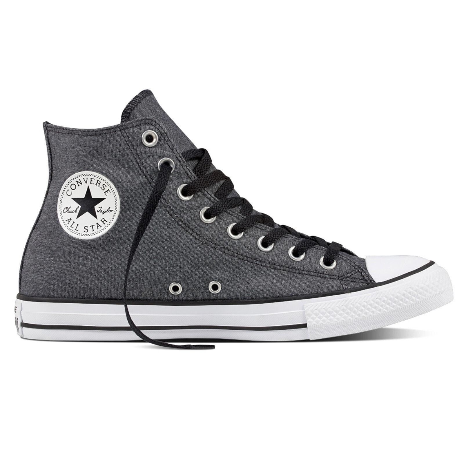 Converse All CTAS HI chambray Negro/Blanco/Negro Chuck Taylor All Converse Star HI Zapatos Chuc d28b0e
