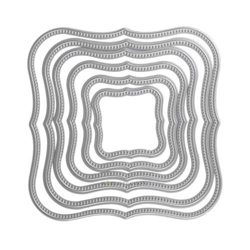 20 Type Irregular Frame Metal Cutting Dies Stencils For DIY Scrapbook Paper Card