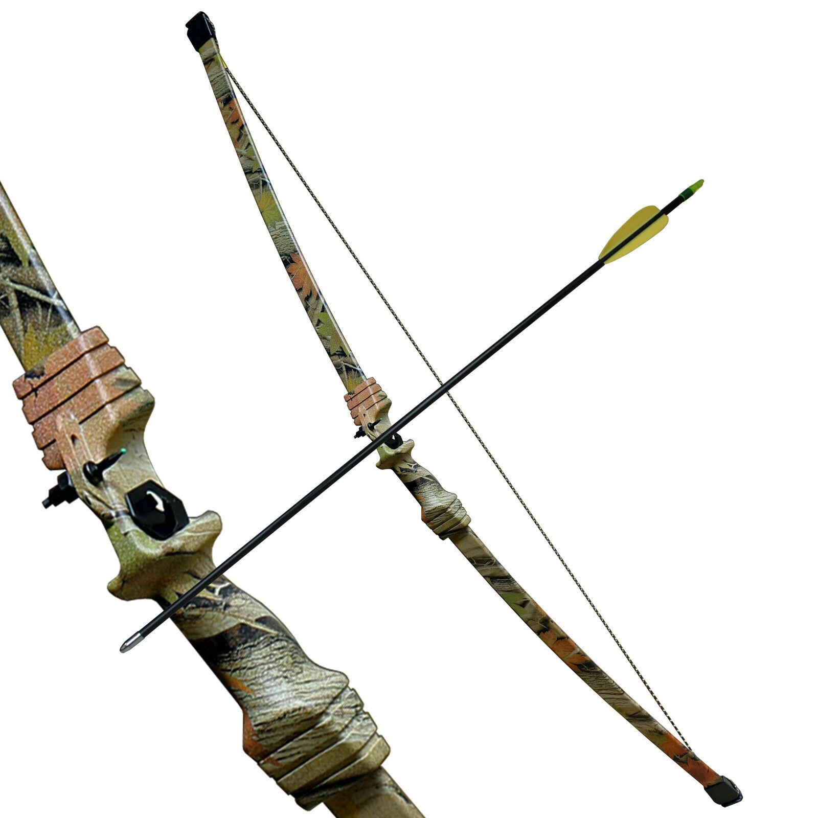 Haller juventud arco-set camo Design 15 libras con 2 flechas de fibra de vidrio y flecha Aljaba
