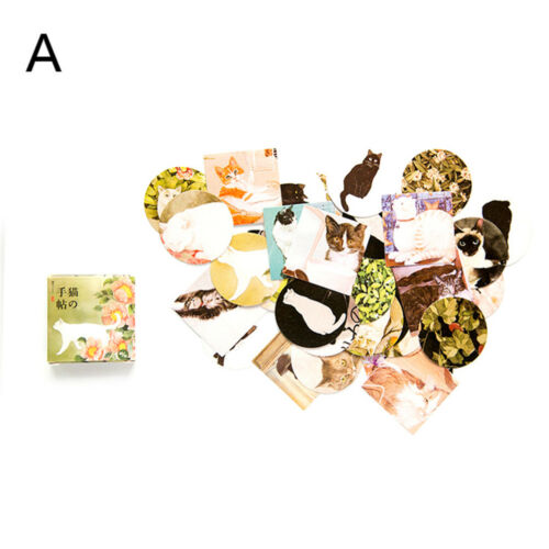 40pcs//lot animals cupcakes flowers theme sealing label stickers birthday gift TB