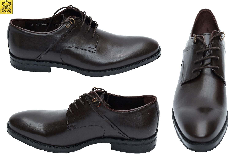 Billig gute Qualität Muga Herren Schuhe Echtleder1050Gr.46 Braun