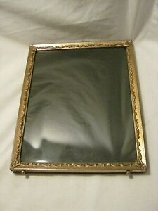 """ornate vintage metal picture photograph photo frame scroll style elegant 8"""" x 10"""