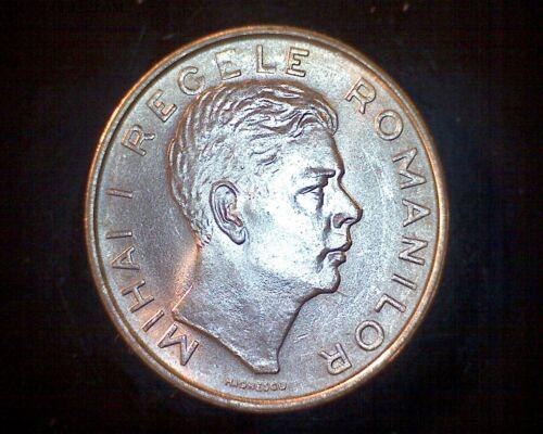 ULTRA RARE King Michael Regele Mihai Scarce Key Date 100 Lei 1944 UNC Romania