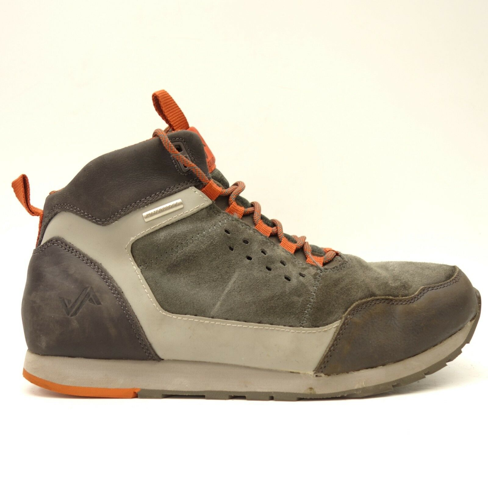 Forsake Mens Driggs Waterproof Leather Athletic Hiking Trail Boots US 10
