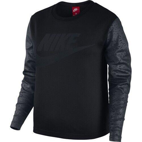 Nike donna montaggio sbalzo Top Small Nero RRP RRP RRP .95 5cac54