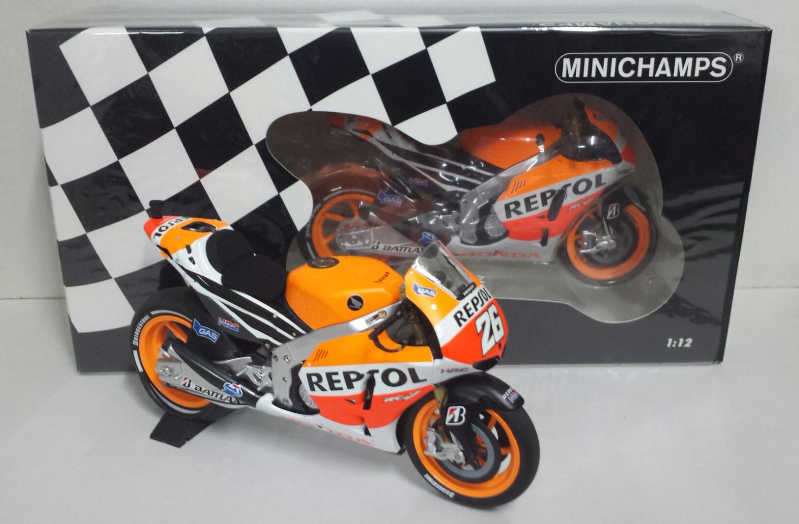 Minichamps daniel pedRosa 1   12 honda rc 213v motogp 2013 neue limited edition