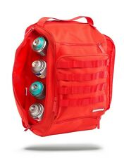 SPRAYGROUND URBAN RED GUB GRAFFITI UTILITY SPRAY PAINT CAN BACKPACK LAPTOP BAG