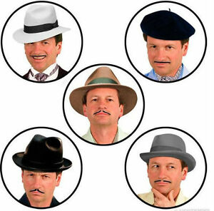 Pencil-Thin-Stick-On-Moustaches-Set-Costume-Mo-Hair-Gadget-Movember-Gift-Idea