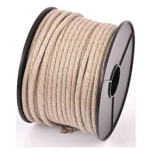 Qualitaet-Everlasto-Britische-Herstellung-Leinen-Longase-Uhr-Seil-Flachs