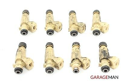 03-06 MERCEDES C55 E55 W209 CLK55 S55 AMG 5.5 5.4L V8 SET OF 8 OEM FUEL INJECTOR