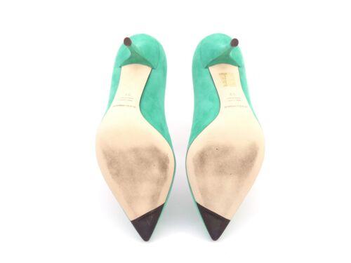 Dolce Decollete Suede Smeraldo amp; Rrp 37 Gabbana Off RaxnR6r