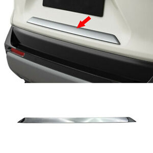 ABS Chrome Rear Trunk Gate Lid Modeling Cover Trim For Toyota RAV4 2019-2021