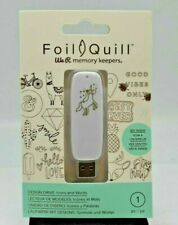 Lot 6 We R Memory Keepers Foil Quill Design USB Drives Creates Swapp Evans New
