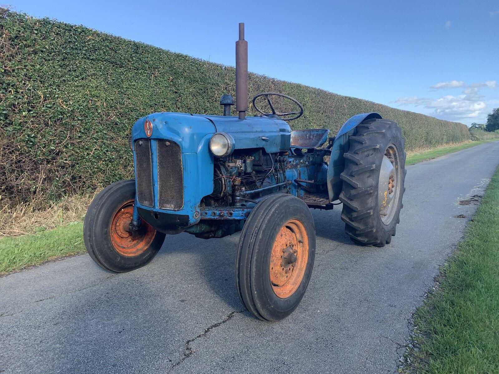 1960 Fordson Dexta Tractor, Original Barn Find
