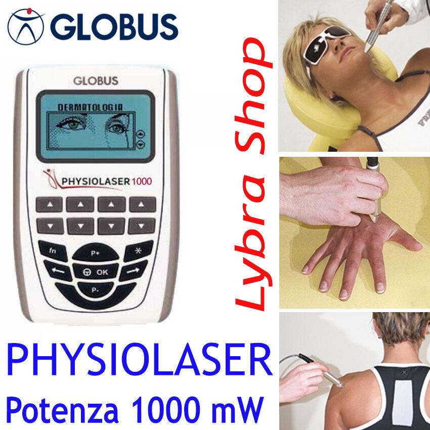 Globus PHYSIOLASER 1000 Láser Terapéutica (TLBI) Pmax 1 W, 809 nm, cont pulsado