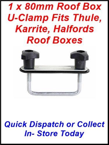 1 90MM completo caja de techo se adapta THULE Karrite U-clamp odisea Halfords /& éxodo