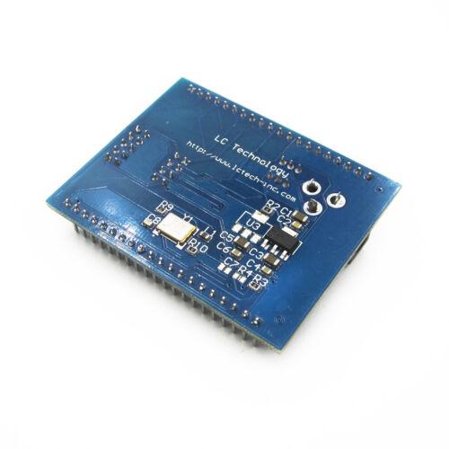 Xilinx XC9572XL AMS CPLD development learning board test board+4 programm LED
