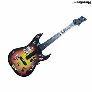 PS2 Guitar Hero Sunburst Wireless Controller  Red Octane  95449 805 NO DONGLE