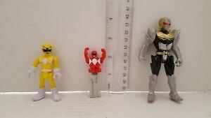 Power-Ranger-Key-lot-de-3-Mix-loose-Toy-Bandai-expedition-rapide