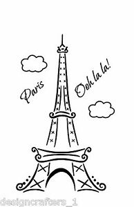 Image is loading Paris-Ooh-La-La-Eiffel-Tower-72-034-  sc 1 st  eBay & Paris Ooh La La Eiffel Tower 72