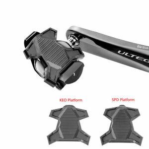 RockBros-Velo-Pedale-crampons-plate-forme-pour-Shimano-SPD-LOOK-KEO-auto-verrouillage-des-Pedales