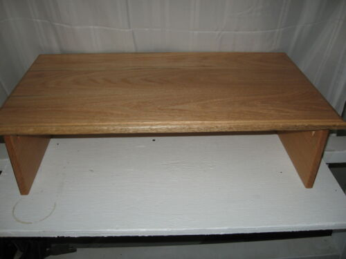 "EX-LARGE DANISH OIL 30/""W X 17/"" DEEP X 8/"" HIGH-By Syracuse TV Risers OPEN BACK"