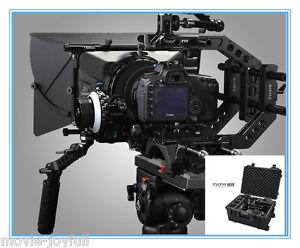 Tilta-3-DSLR-Rig-Kit-Shoulder-Follow-focus-Matte-box-Baseplate-W-Case-Movie-Kit