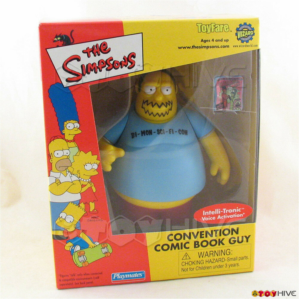 Simpsons Convention Comic Book Guy World of Springfield - mail away exclusive