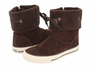 6946a4c9951d10 Image is loading Converse-Chuck-Taylor-Andover-Kids-Boots-Chocolate-White-