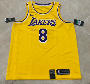 Kobe Bryant Nike Los Angelas Lakers #8 2020 Swingman Icon Jersey ...