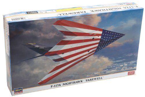 Hasegawa 1 72 F-117a Nighthawk Farewell Kit Modello Nuovo da Giappone