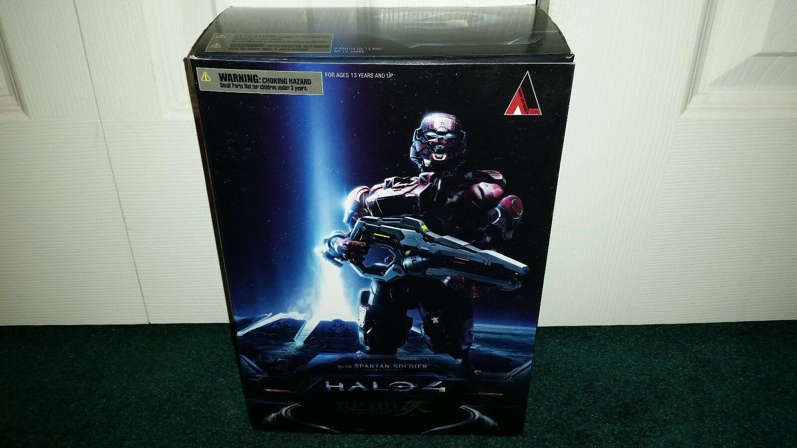 Spartan Soldier No. 4 Halo 4 Play Arts Square Enix NEW MISP