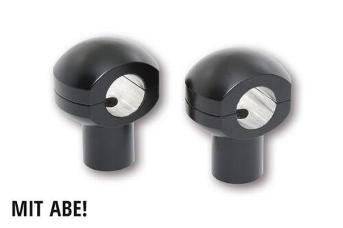 HIGHSIDER Riser Ball 1 Zoll,UNIVERSAL 50 mm schwarz 150-020