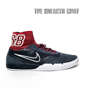 a3260aacca2f NIKE SB HYPERFEEL KOSTON 3 MENS SKATE SHOES  7.5 RED WHITE AND BLUE ...