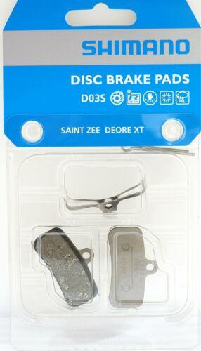 SHIMANO Disc Brake Pads D03S Resin Deore XT Saint Zee BR M8020//M820//M810//M640..
