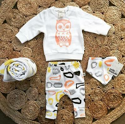 2016 Outfit set Baby Boy Girls Clothes Casual Long Outfit sz:6M 12M 18M 24Months