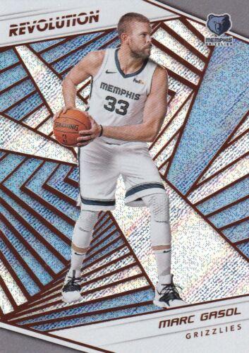 2018//19 Panini Revolution Basketball Sammelkarte #90 Marc Gasol