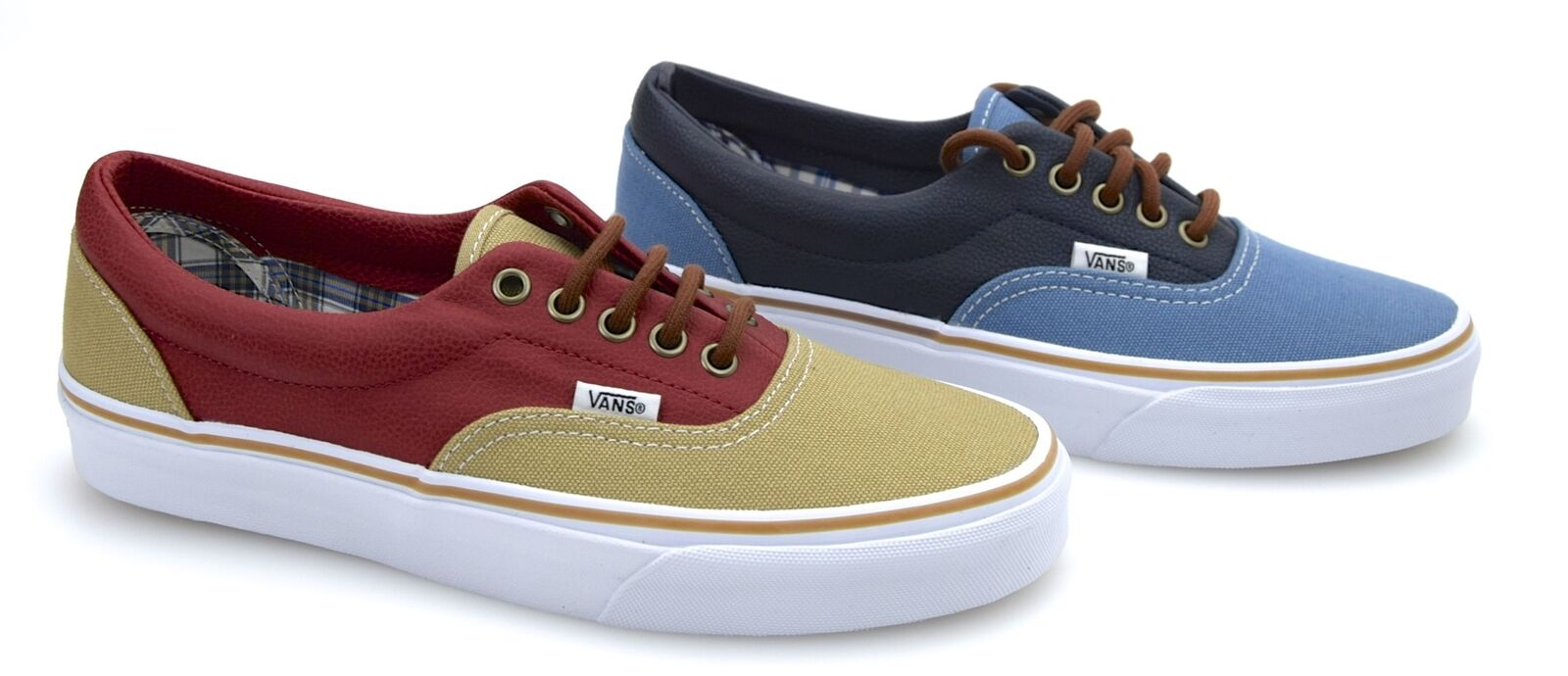 VANS MAN SNEAKER SHOES CASUAL FREE TIME CANVAS RUBBER CODE ERA Y6XFH1 - Y6XFH0