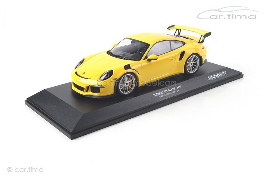 Porsche 911 (991) gt3 RS-racinggiallo - 1 of 222-Minichamps - 1 18 - 153066231