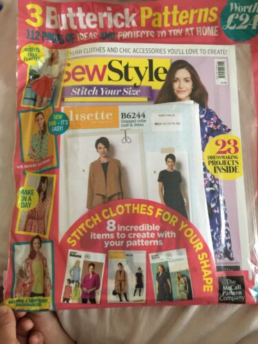 sew style stitch your size brand new pack