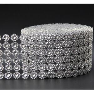1er-Diamant-Strass-Band-Mesh-Verpackungs-Hochzeit-Blumenschmuck-Supplies-9-ZNP